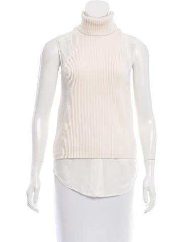 Kaufmanfranco Wool Turtleneck Top None