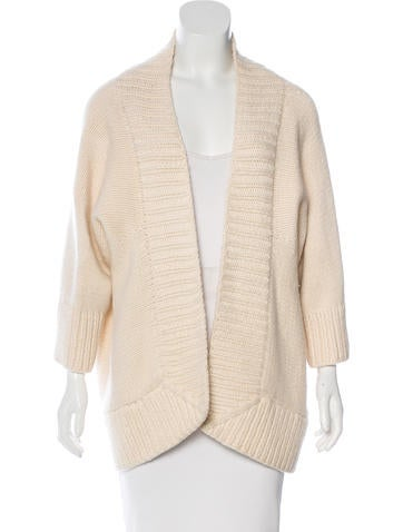 Kaufmanfranco Open Front Knit Cardigan None