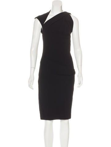 Kaufmanfranco Wool Asymmetrical Dress None