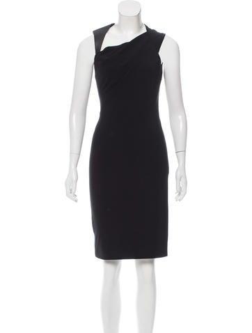 Kaufmanfranco Wool Asymmetrical Dress w/ Tags None