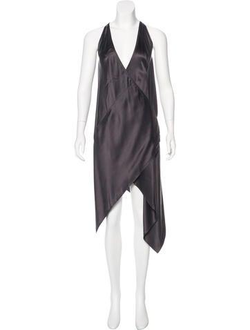 Kaufmanfranco Silk Wrap Dress None