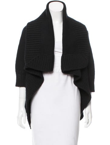 Kaufmanfranco Cashmere Open Front Cardigan None