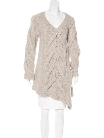 Kaufmanfranco Wool-Blend Asymmetrical Sweater None