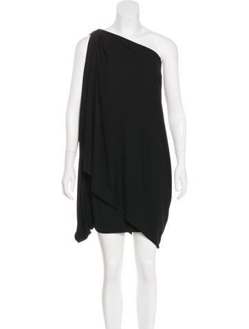 Kaufmanfranco One-Shoulder Knee-Length Dress None