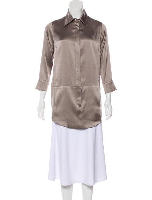 Kaufmanfranco Silk Button-Up Tunic