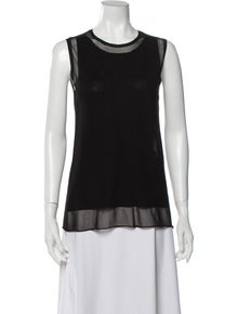 KAUFMANFRANCO Crew Neck Sleeveless Top w/ Tags