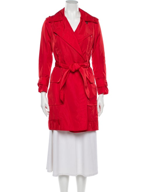 Kaufmanfranco Trench Coat Red
