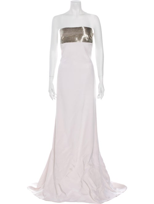 Kaufmanfranco Silk Long Dress