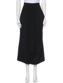 KAUFMANFRANCO Silk Midi Length Skirt