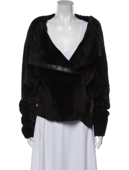 Kaufmanfranco Shearling Jacket Black