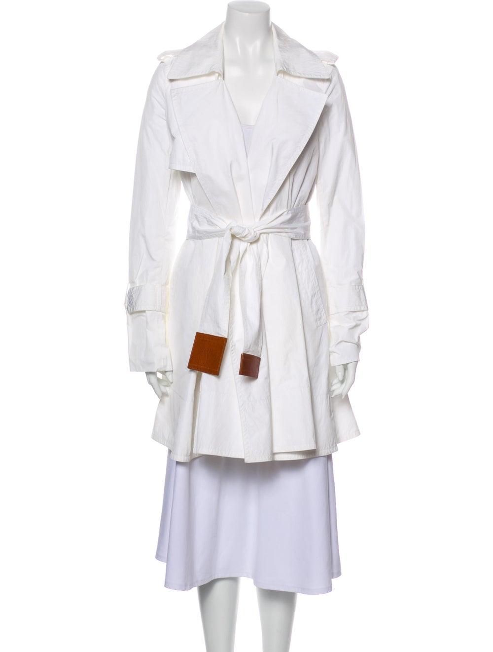 Kaufmanfranco Trench Coat White - image 1