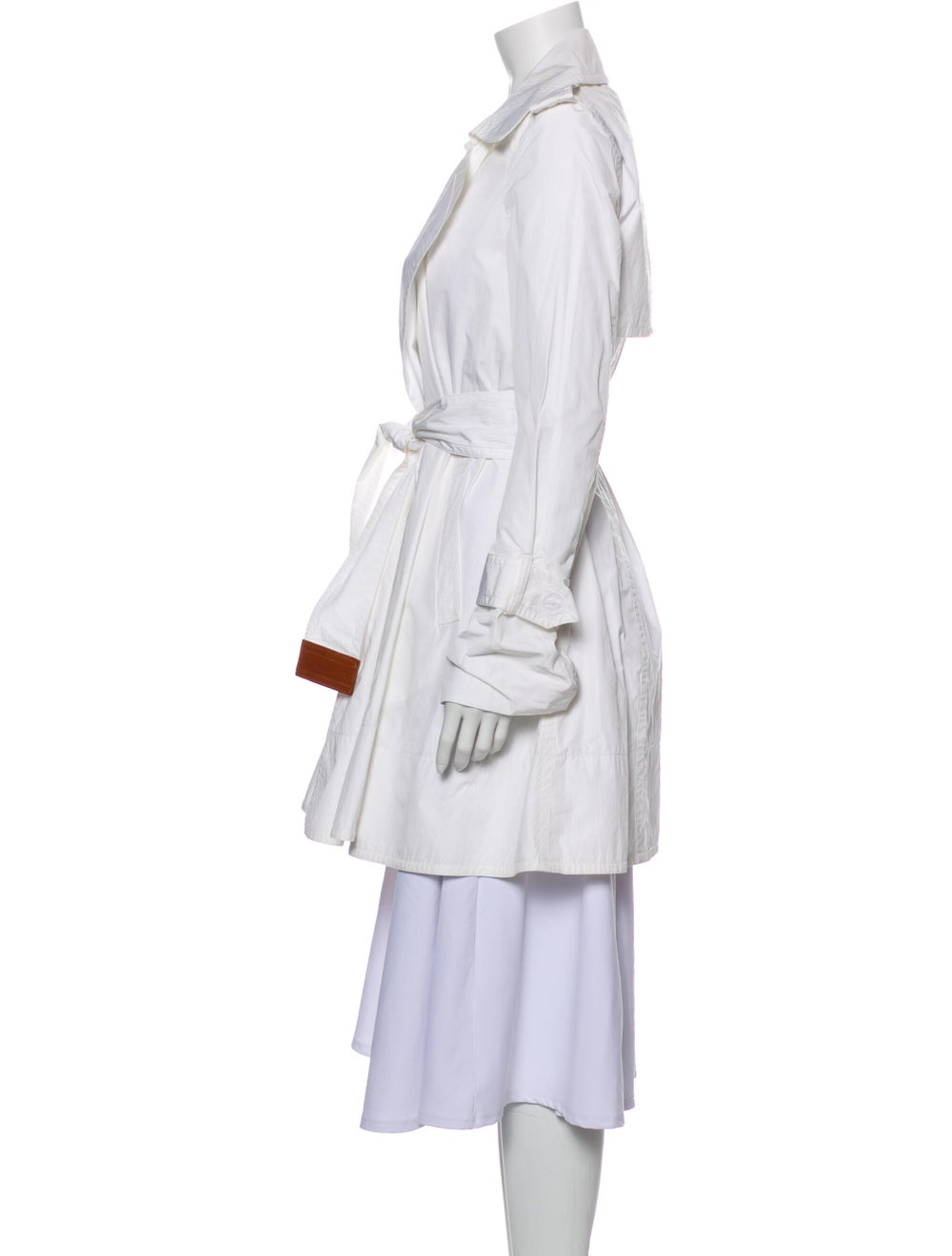 Kaufmanfranco Trench Coat White - image 2