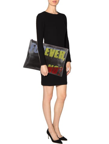 Forever No Oversized Clutch