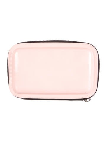 Leather Mirrored Clutch