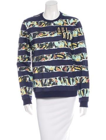 Kenzo Printed Crewneck Sweatshirt w/ Tags None