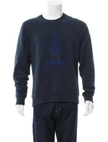 Kenzo Pullover Graphic Sweatshirt None