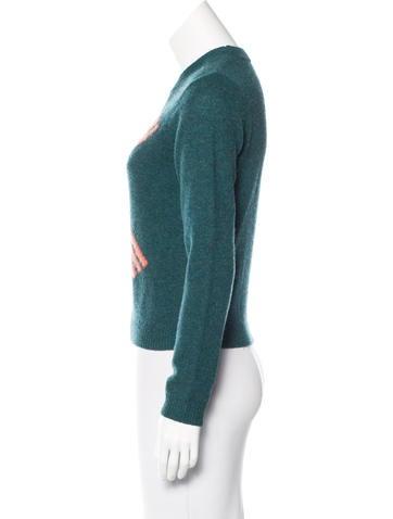 Intarsia Wool Sweater