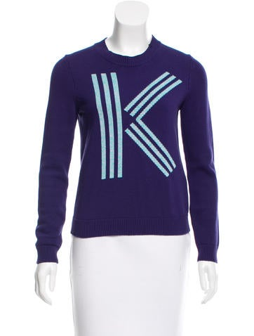Kenzo Knit Crew Neck Sweater None