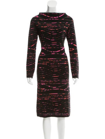 Kenzo Pattern Sweater Dress w/ Tags None