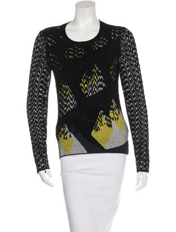 Kenzo Patterned Knit Sweater None