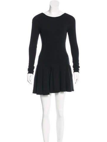 Kenzo Rib Knit Mini Dress None