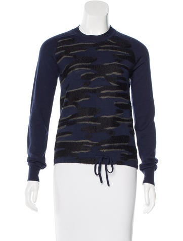 Kenzo Jacquard Wool Sweater None