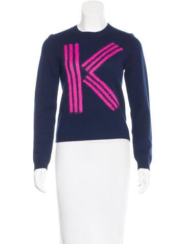 Kenzo Intarsia Wool Sweater None