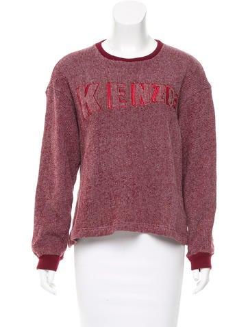 Embroidered Pullover Sweatshirt