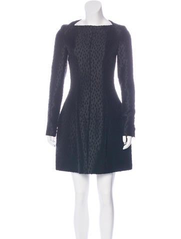 Kenzo Patterned Mini Dress None