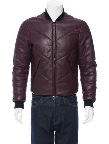 Kenzo Leather Bomber Jacket None