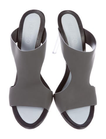 Rubber Cutout Sandals