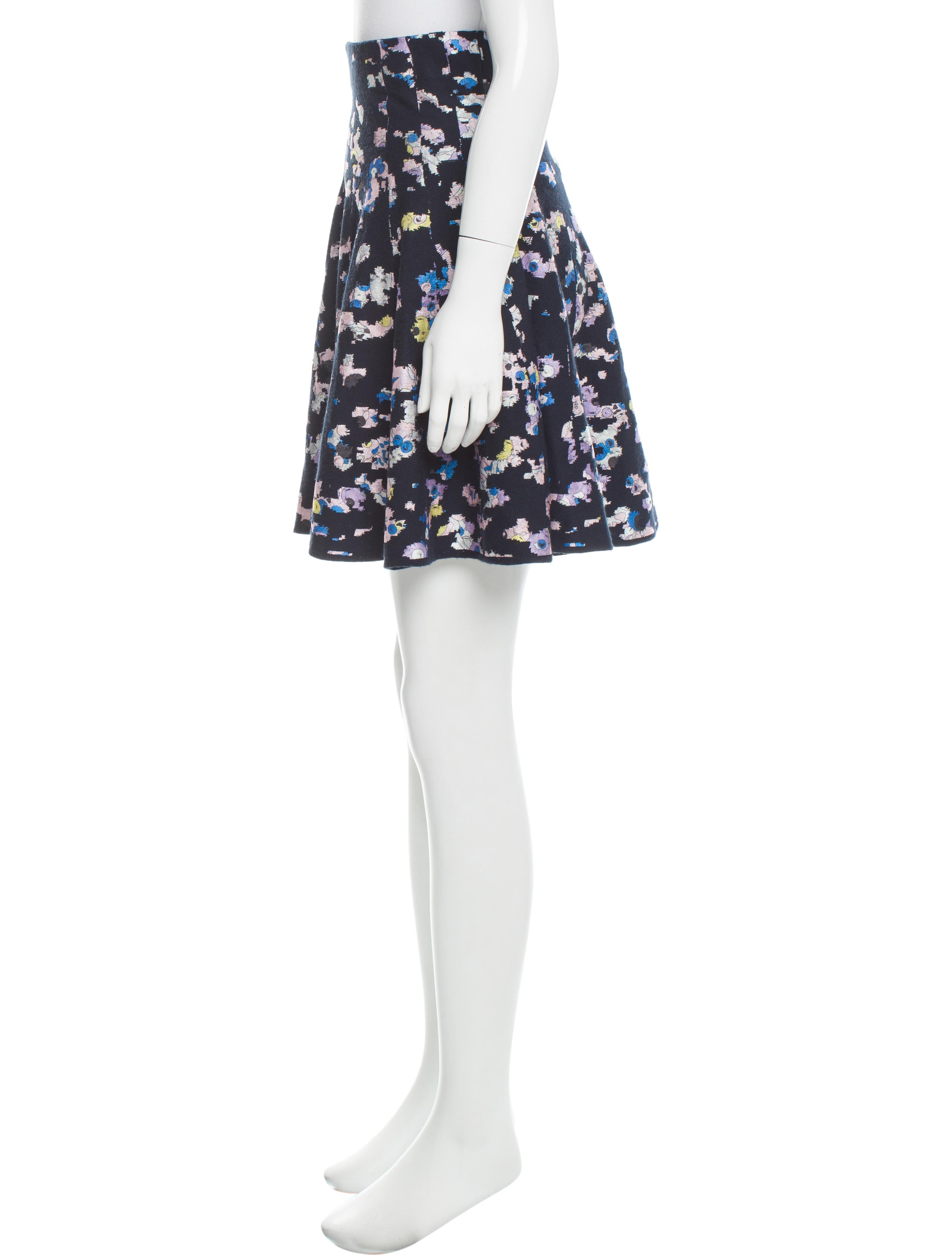 kenzo patterned a line skirt w tags clothing ken24429