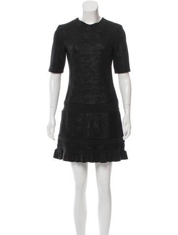 Kenzo Textured Mini Dress None