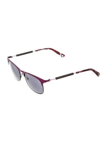Kenzo Round Semi-Rimless Sunglasses - Accessories ...
