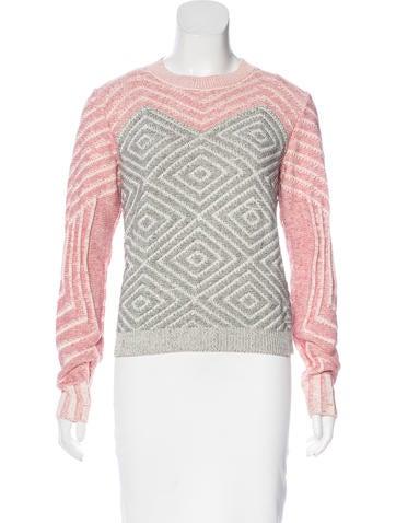 Kenzo Knit Colorblock Sweater None
