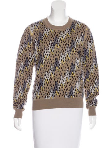 Kenzo Wool Patterned Sweater None