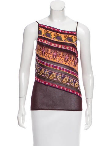 Kenzo Knit Sleeveless Top None