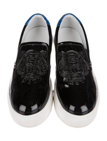 Kenzo Platform Shoes Rubber Slip On Sale