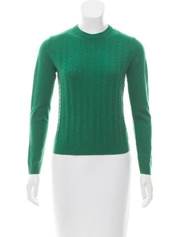 Kenzo Wool Rib Knit Sweater None