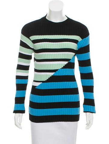 Kenzo Striped Crew Neck Sweater None