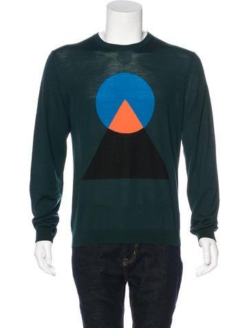 Kenzo Geometric Wool Sweater None