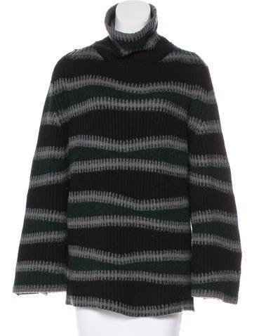 Kenzo Striped Wool Sweater None