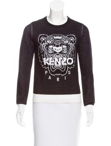 Kenzo Embroidered Logo Sweatshirt None