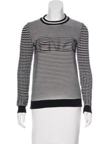 Kenzo Striped Logo Sweater None