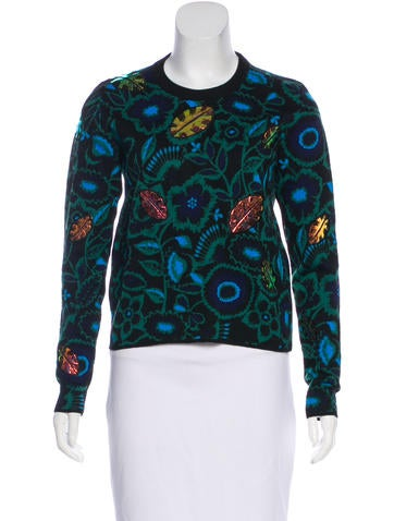 Kenzo Floral Pattern Sweater None