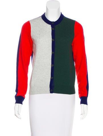 Kenzo Colorblock Cashmere Sweater None