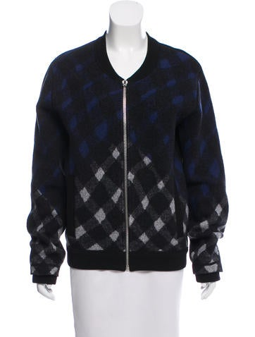 Kenzo Patterned Wool Jacket None