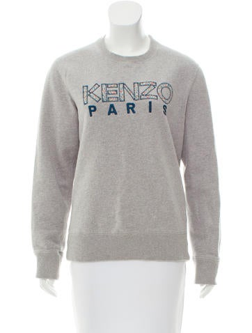 Kenzo Embroidered Logo Sweater None