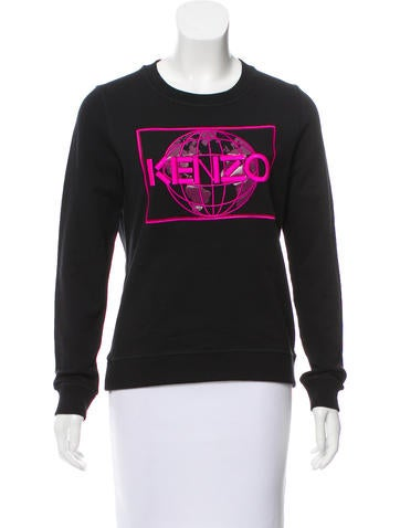Kenzo Embroidered Crew Neck Sweatshirt w/ Tags None
