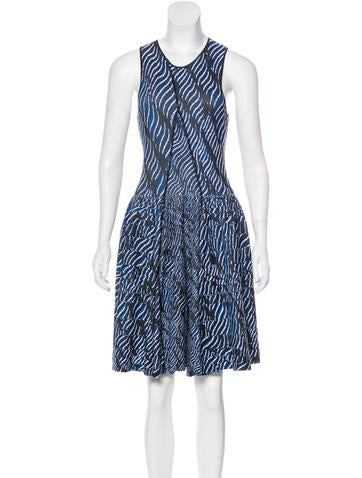 Kenzo Patterned A-Line Dress None